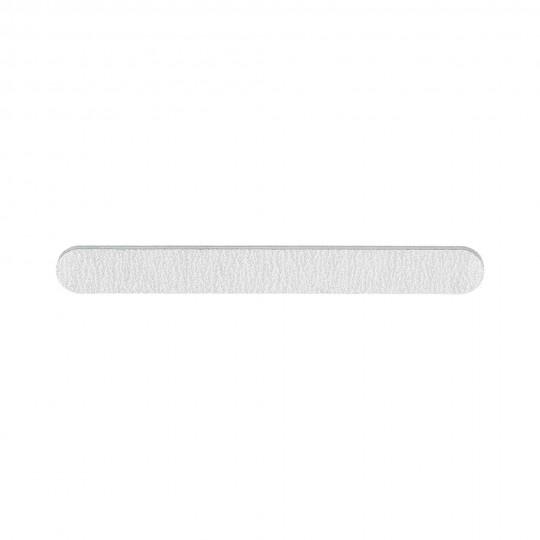 Gerade breite Nagelfeile in Zebra-Farbe 100/180