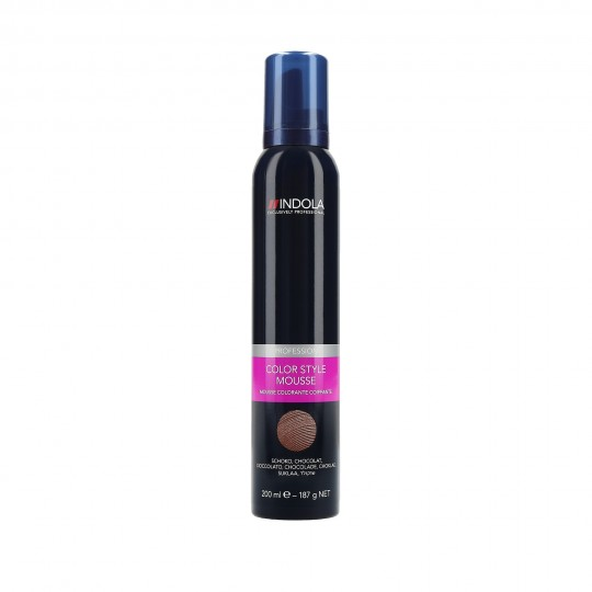 Indola Color Style Mousse Tönungsschaum 200 ml