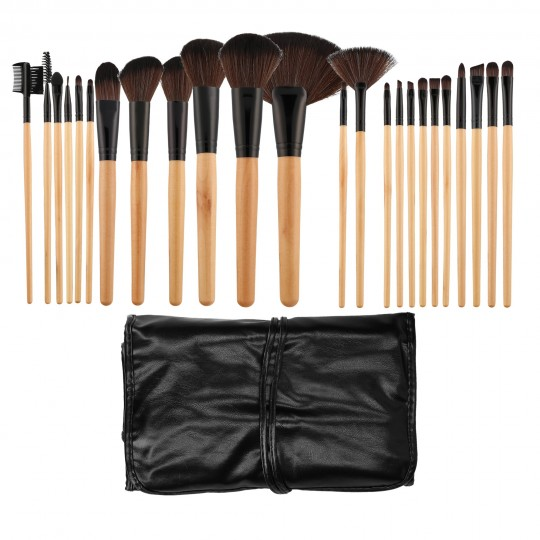 Set von 24 Make-up-Pinseln
