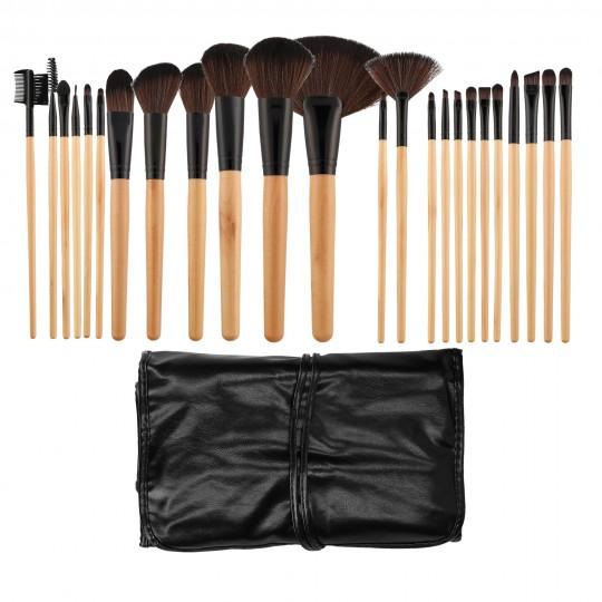 MIMO 24 Teilig Makeup Pinseln Set - 1