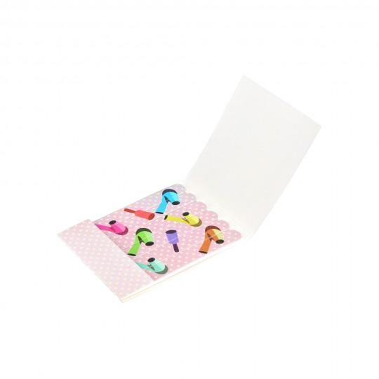 6er-Set Einweg-Nagelfeilen aus Papier – Set von 6 Stücken
