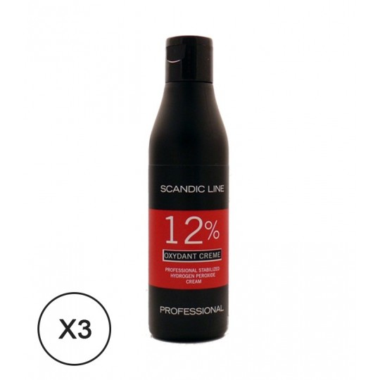 SCANDIC Creme-Oxidationsmittel 12% Sammelpackung 3x 1000 ml