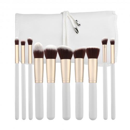 Set von 10 Make-up-Pinseln - 1