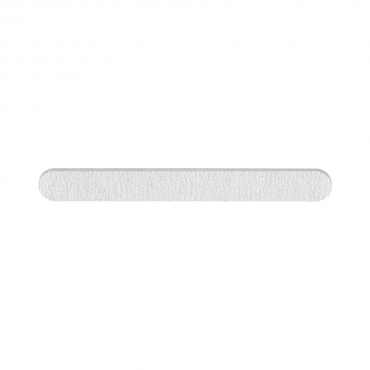 Gerade breite Nagelfeile in Zebra-Farbe 150/150