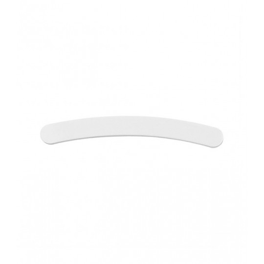 Weiße Nagelfeile mit Abstufung 180/240