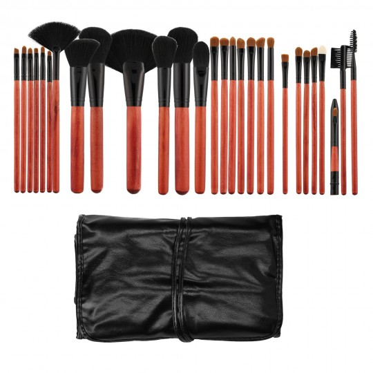 Set mit 28 Make-up Pinsel - 1