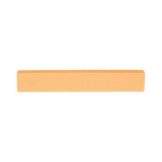 Zweiseitige Polierfeile - orange 100/180
