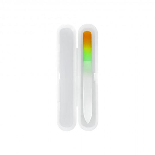 Glasnagelfeile im Kunststoff-Etui