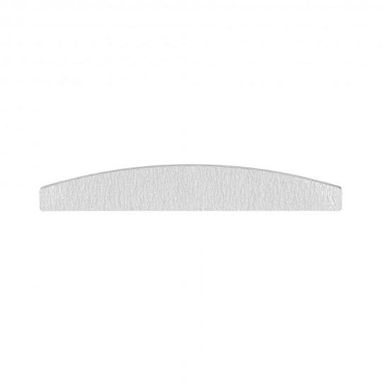 Bootförmige Nagelfeile in Zebra-Farbe mit 150/150 Abstufung