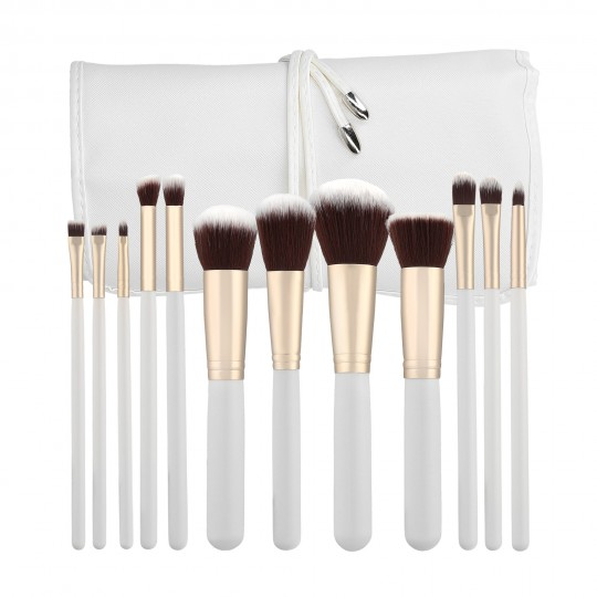 Set von 12 Make-up-Pinseln - 1