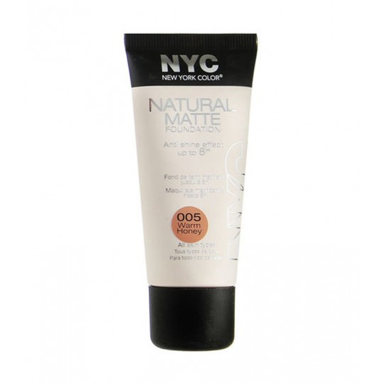 NYC Natural Matte Foundation Mattierende Make-up-Grundierung 30 ml