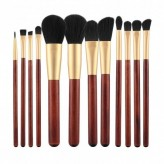 MIMO by Tools For Beauty 4 Teilig Makeup Pinseln Set, Gold