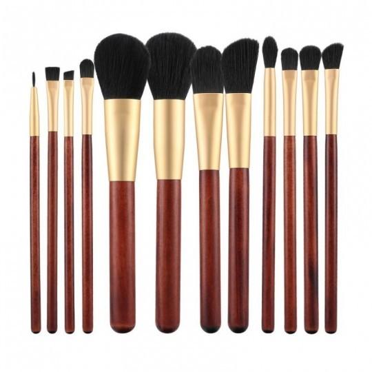 12er-Set Make-up-Pinsel