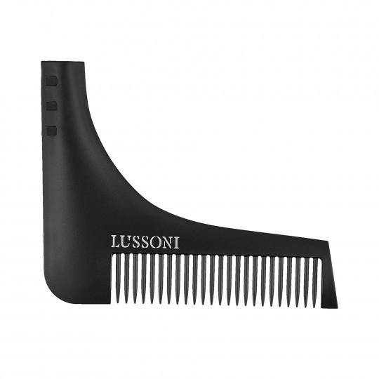 LUSSONI BC 600 Barbierkamm fürs Bartstyling