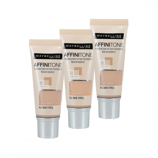 Maybelline Affinitone Hydratisierende Foundation 30ml - 1