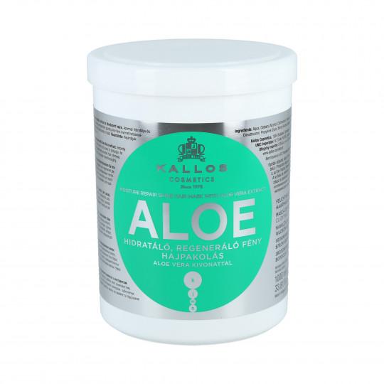 KALLOS KJMN Aloe Feuchtigkeitsspendende Haarmaske mit Aloe Vera 1000ml