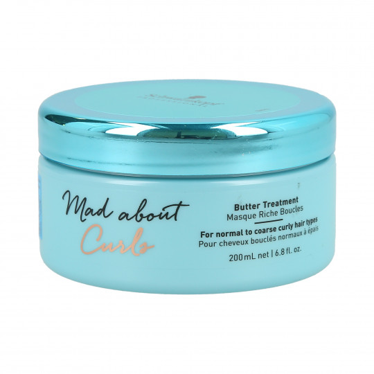 SCHWARZKOPF PROFESSIONAL MAD ABOUT CURLS Butter Treatment Haarmaske 200ml - 1