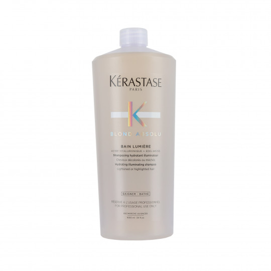 KERASTASE BLOND ABSOLU Bain Lumiere Erhellendes Bad für blondes Haar 1000ml - 1