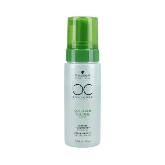 SCHWARZKOPF PROFESSIONAL BC COLLAGEN VOLUME BOOST Conditioner-Schaum 150ml