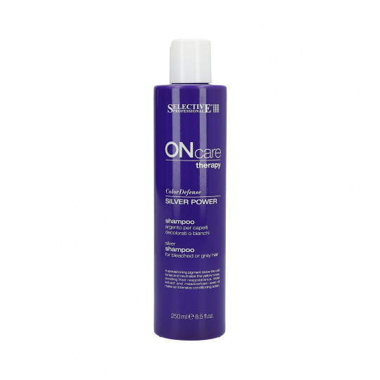 SEL OC TECH SILVER POWER SHAMPOO 250ML