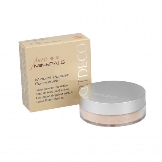 ARTDECO MINERAL POWDER FOUNDATION Mineral-Foundation Puder 15g - 1
