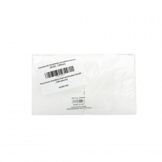 EKO-HIGIENA Perforierte Kosmetiktücher - Rolle 25x20cm 100 Stück