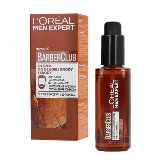 L'OREAL PARIS MEN EXPERT BARBER CLUB Öl für langen Bart und Haut 30ml