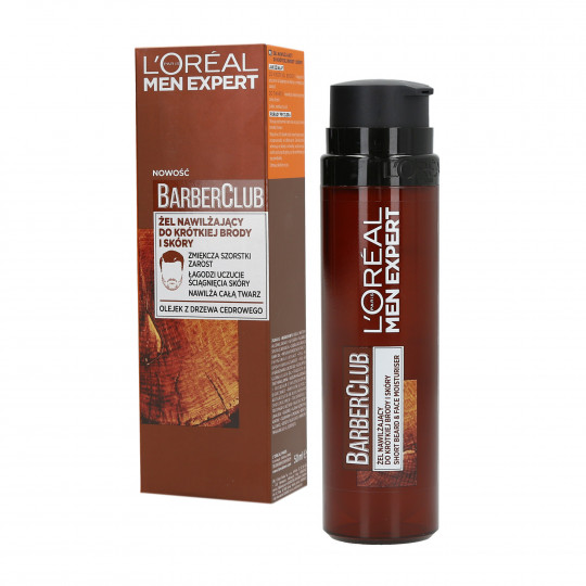 L'OREAL PARIS MEN EXPERT BARBER CLUB Gel für kurzes Bart und Haut 50ml
