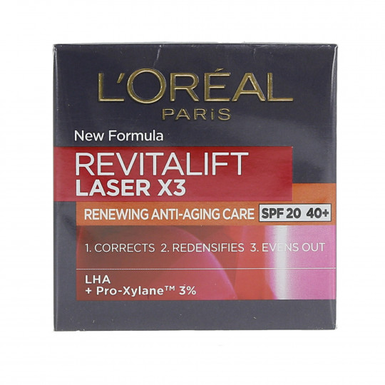 REVITALIFT LASER SPF20 DAY 50ML