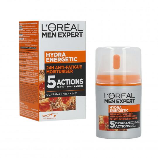 L'OREAL PARIS MEN EXPERT Hydra Energetic Feuchtigkeitscreme für Gesicht 50ml