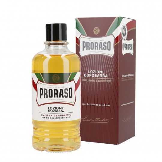 PRORASO RED Nährende Aftershave-Lotion 400ml