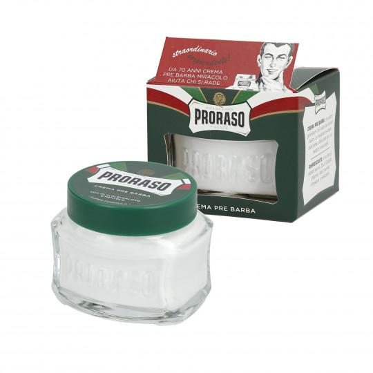 PRORASO GREEN Erfrischende Pre Shave Creme 100ml