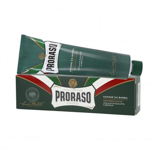 PRORASO GREEN Erfrischende Rasierseife - Tube 150ml