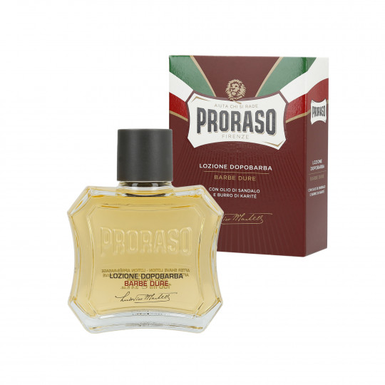PRORASO RED Nährende Aftershave-Lotion 100ml - 1