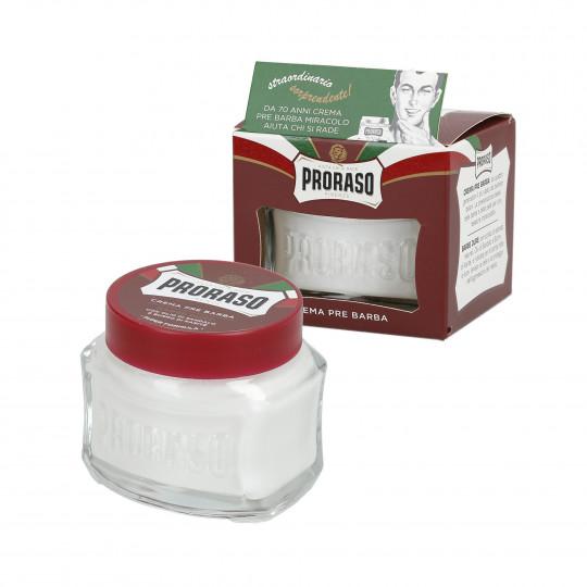 PRORASO RED Nährende Pre Shave Creme 100ml