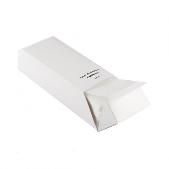 Eko - Higiena enthaarende Streifen, Vliesstoff-Gewebe-Refill (100 Stück)