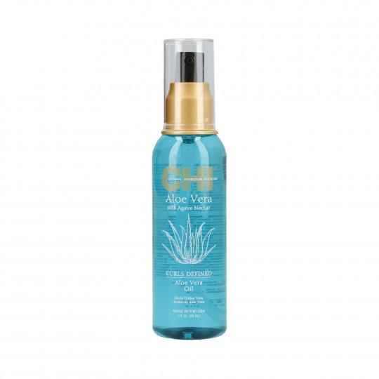 CHI ALOE VERA Verstärkendes Öl mit Aloe Vera für lockiges Haar 89ml