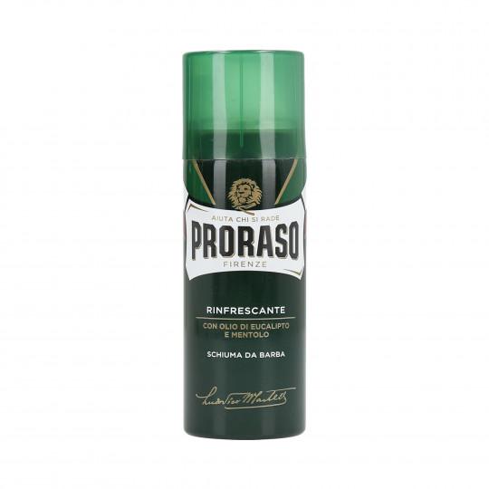 PRORASO GREEN Erfrischender Rasierschaum 50ml