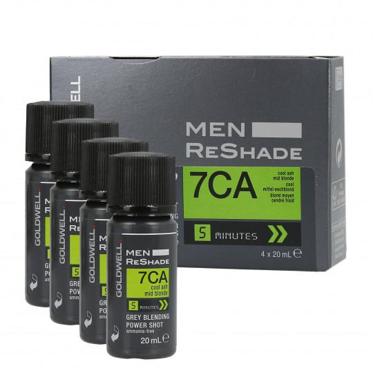 GOLDWELL MEN RE-SHADE Haartönung für Männer 7CA 4x20ml