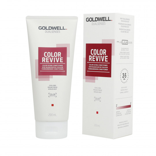 GOLDWELL DUALSENSES COLOR REVIVE Tönungsconditioner Cool Red 200ml