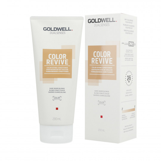 GOLDWELL DUALSENSES COLOR REVIVE Tönungsconditioner Dark Warm Blonde 200ml