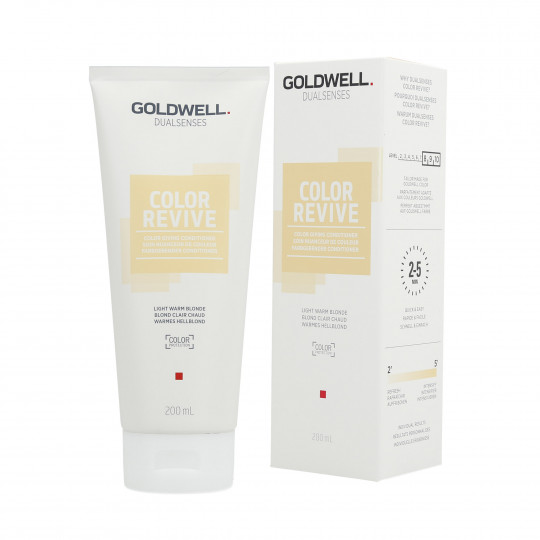 GOLDWELL DUALSENSES COLOR REVIVE Tönungsconditioner Light Warm Blonde 200ml