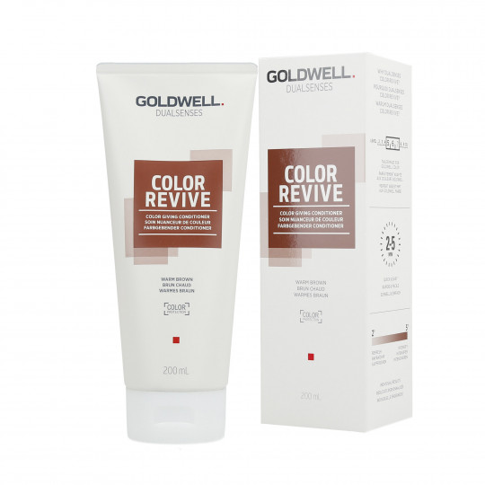 GOLDWELL DUALSENSES COLOR REVIVE Tönungsconditioner Warm Brown 200ml