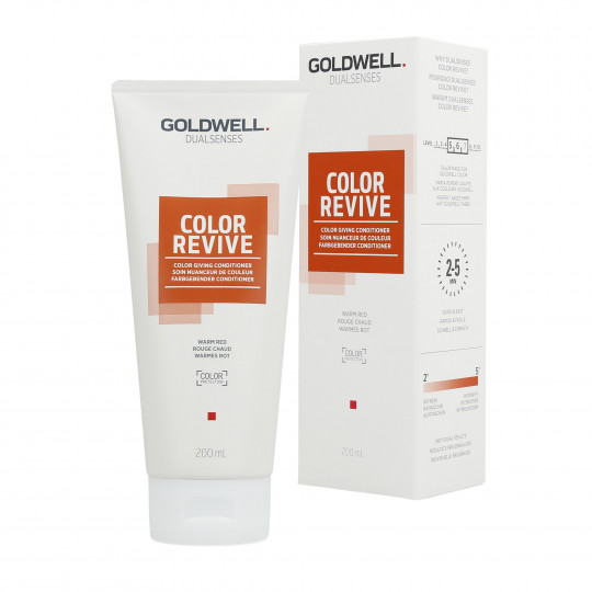 GOLDWELL DUALSENSES COLOR REVIVE Tönungsconditioner Warm Red 200ml