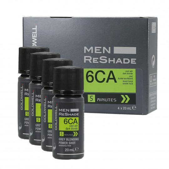 GOLDWELL MEN RE-SHADE Haartönung für Männer 6CA 4x20ml
