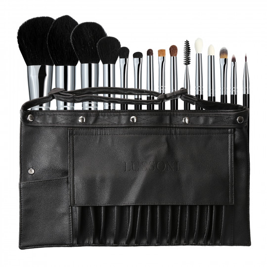 LUSSONI by Tools For Beauty, Master Kit 16 Teilig Professionelles Makeup Pinsel Set
