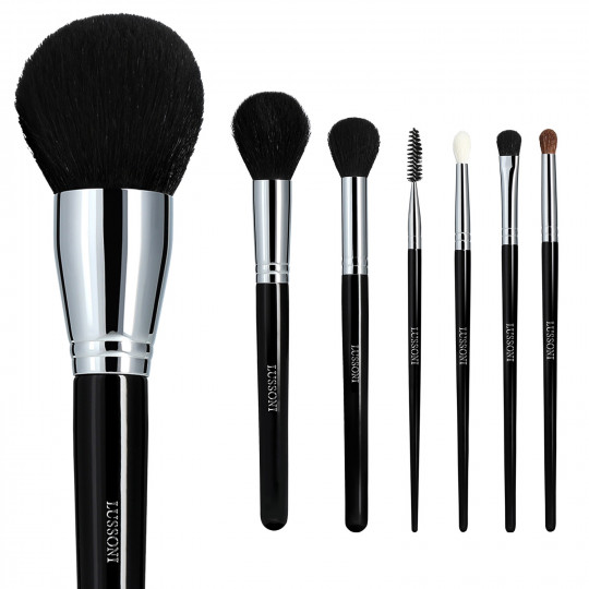LUSSONI by Tools For Beauty, Must-haves - 7 Teilig Professionelles Makeup Pinsel Set