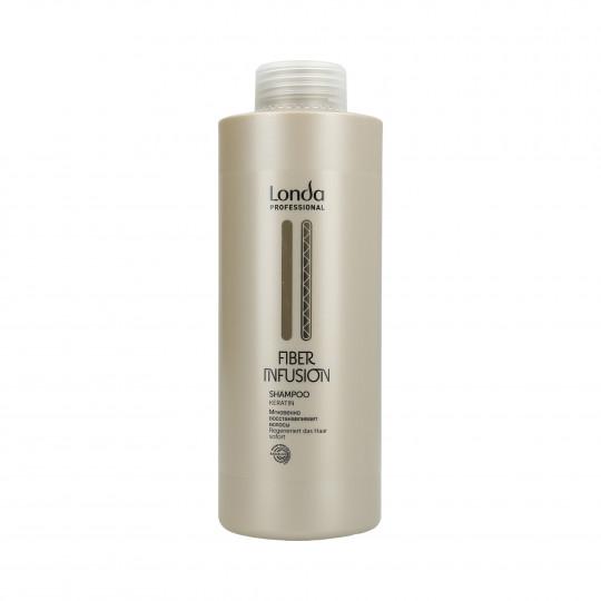 LONDA FIBER INFUSION Regenerierendes Shampoo mit Keratin 1000ml