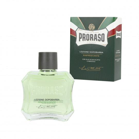 PRORASO GREEN Erfrischendes Aftershave-Wasser 100ml