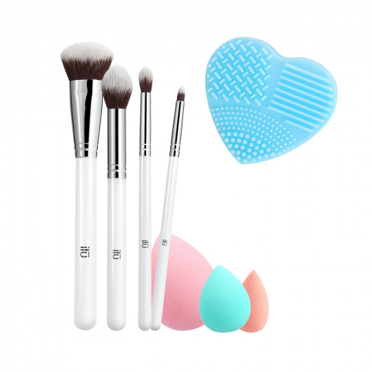 ilū by Tools For Beauty, Perfect Pick Up - Makeup Pinsel Set
